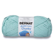 Go to Product: Bernat Softee Baby Chunky Yarn, Surf Green in color Surf Green