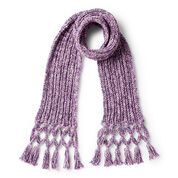 Go to Product: Bernat Twisted Fringe Knit Scarf in color