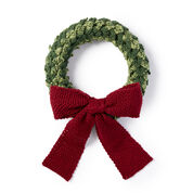 Caron Layered Leaves Wreath
