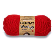 Bernat Wool-Up Worsted Yarn, Red - Clearance Shades*