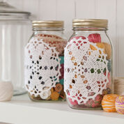 Go to Product: Aunt Lydia's Hearts Desire Doily-ed Jars in color