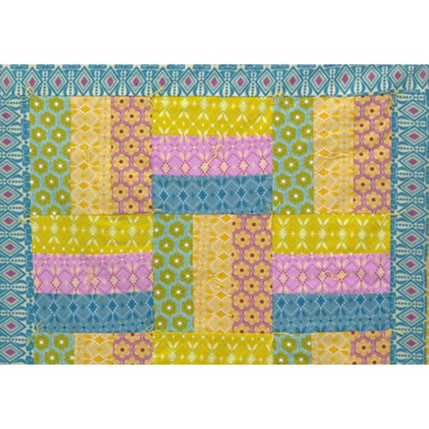 Dual Duty Night Night Quilt in color