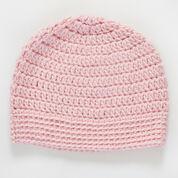 "Red Heart Soft Comfort Crochet Hat, Head size 18"""