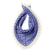 Caron Crochet It Shawl For You, Lavender Blue