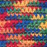 Patons Canadiana Variegates Yarn, Rainbow Variegate in color Rainbow Variegated Thumbnail Main Image 3}