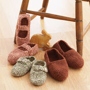 Bernat Family Slippers to Crochet , S