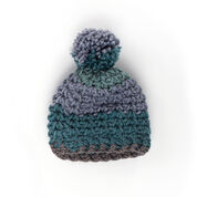 Caron Crochet Winter Hat