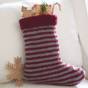 Patons Striped Stocking