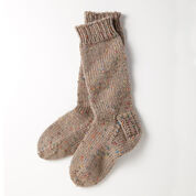 Patons Slouchy Socks, Womens 5-6