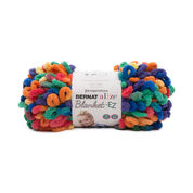 Go to Product: Bernat Alize Blanket-EZ Yarn in color Bright Rainbow