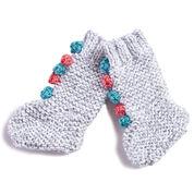 Bernat Knit Baby Circus Socks