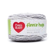 Go to Product: Red Heart Fleece Hugs Yarn in color Cloudy Day