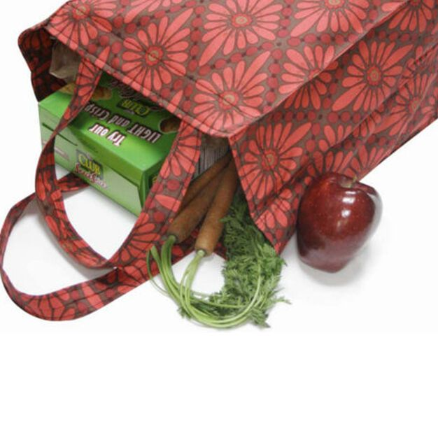 Dual Duty Reusable Grocery Bag in color