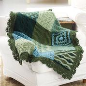 Red Heart Crochet Sampler Afghan