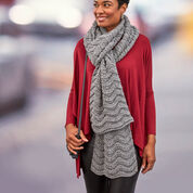 Red Heart Wavy Ridge Super Scarf