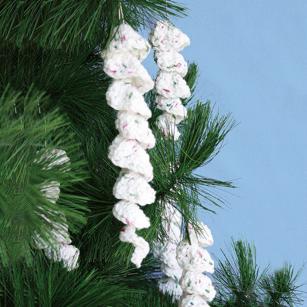 Bernat Icicle Ornaments, S