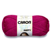 Go to Product: Caron Simply Soft Party Yarn in color Fuchsia Sparkle