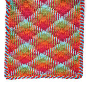 "Go to Product: Red Heart Planned Pooling Argyle Table Runner, 18"" x 60"" in color"