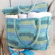 Lily Sugar'n Cream Beach Bag & Mat