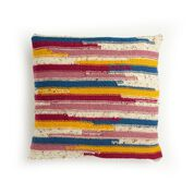 Go to Product: Caron Abstract Stripes Knit Pillow in color