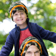 Red Heart Dad & Son Camo Hats, Child