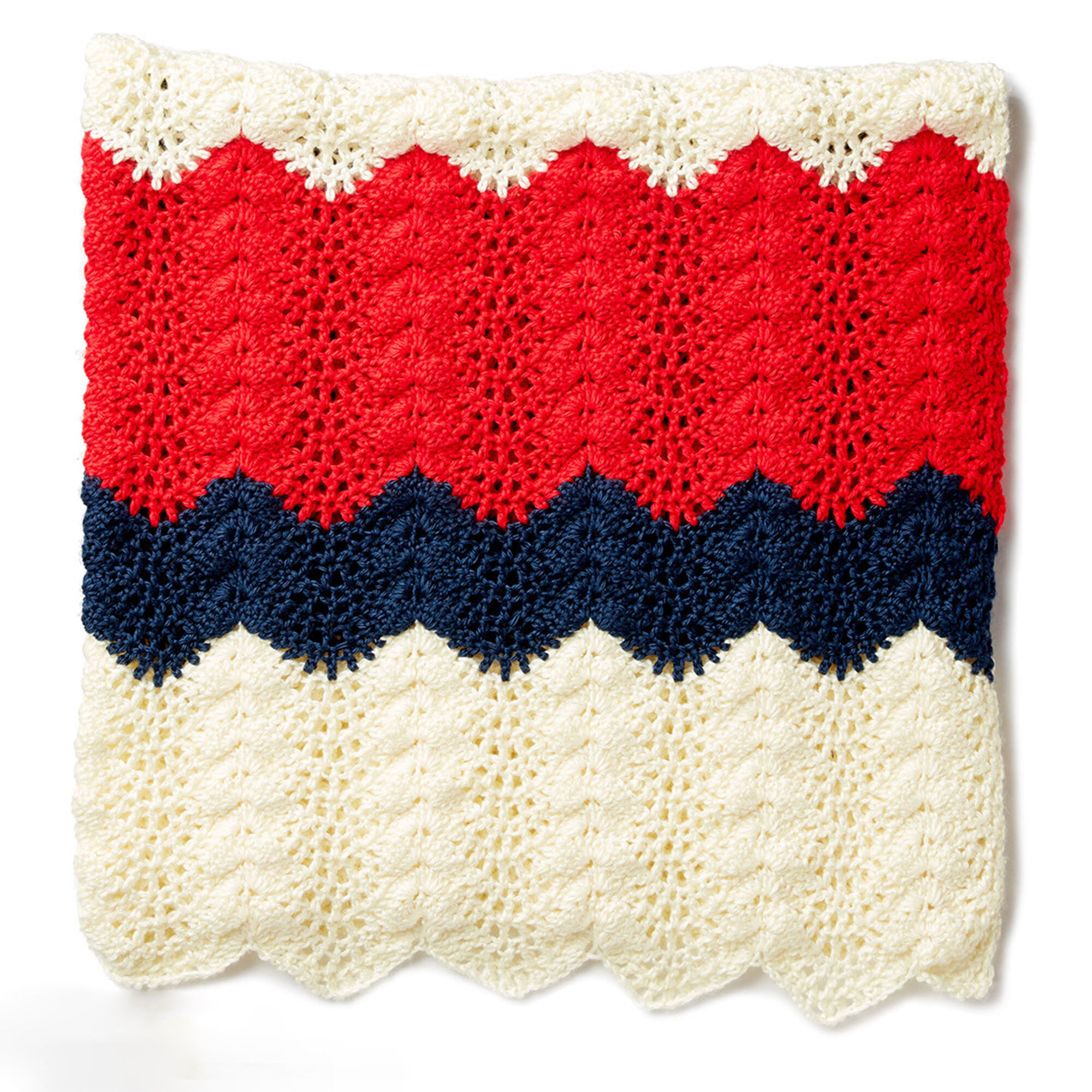 Caron Summer Ripple Crochet Blanket | Yarnspirations