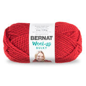 Go to Product: Bernat Wool-Up Bulky Yarn in color Red