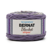 Go to Product: Bernat Blanket Stripes Yarn (300g/10.5 oz) in color Eggplant