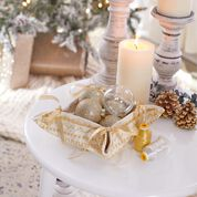 Coats & Clark Golden Accents Fabric Basket