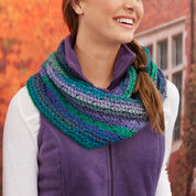 Go to Product: Red Heart Mia's Herringbone Chevron Cowl in color