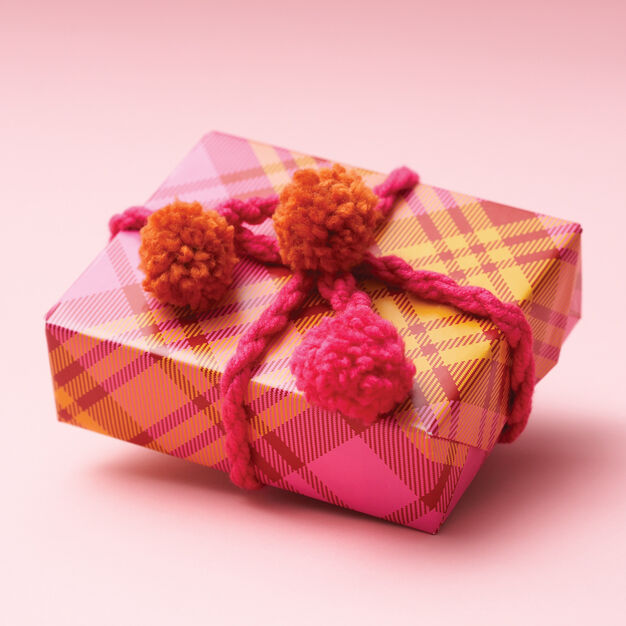 Bernat Pompom Gift Decoration