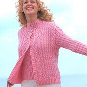 Go to Product: Patons Aran Texture Twinset, Cardigan - S in color