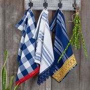 Go to Product: Aunt Lydia's Lace Edged dish towels in color