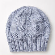 Patons Polka Dot Knit Hat