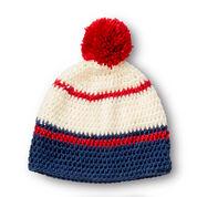 Caron Crochet Ready Set Go Cap