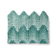 Bernat Ridged Crochet Baby Blanket