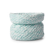 Bernat Knit Nursery Basket
