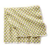 Bernat Checker Crochet Baby Blanket