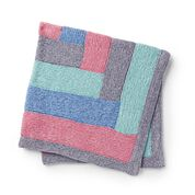 Go to Product: Bernat Luxe Knit Log Cabin Baby Blanket in color