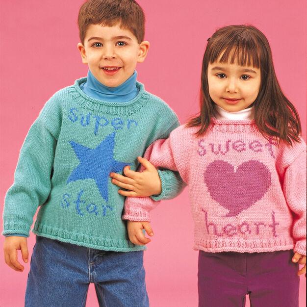 Patons Super Star & Sweetheart, Star - 4 yrs