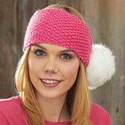 Caron Pompom Headband
