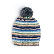 Go to Product: Caron Stripey Knit Hat in color
