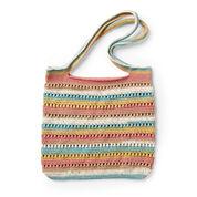 Caron Crochet Textured Tote