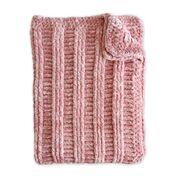 Go to Product: Bernat Velvet Post Lines Crochet Throw in color