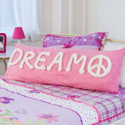 Red Heart Peaceful Dreams Pillow