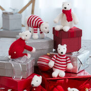 Go to Product: Red Heart Polar Bear Ornaments in color