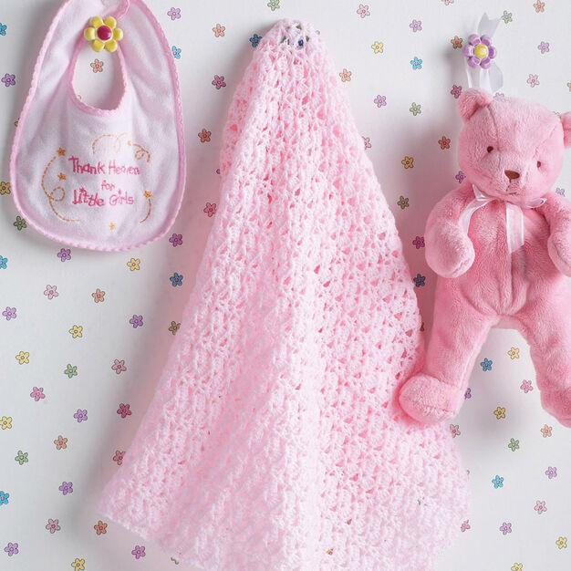 Bernat Beautiful Baby Blanket