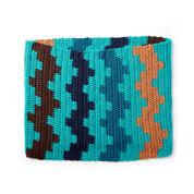Caron x Pantone Fair Isle Crochet Cowl