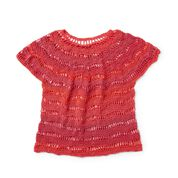 Go to Product: Red Heart Zig Zag Crochet Top, XS/S in color