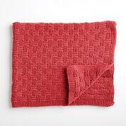 Bernat Parquet Knit Blanket